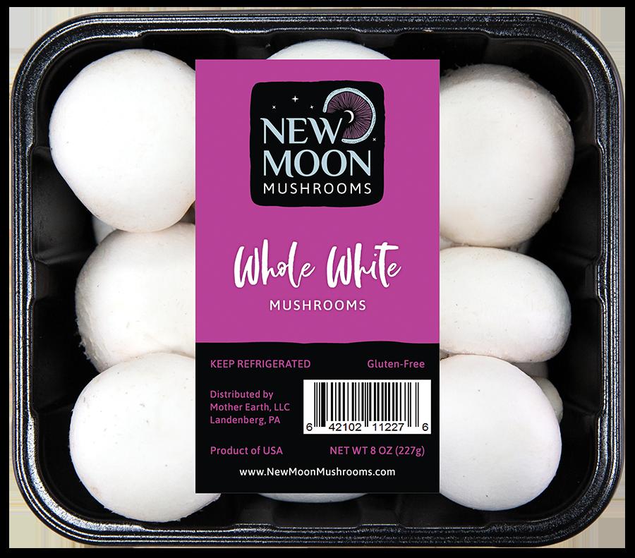 Whole White Mushrooms